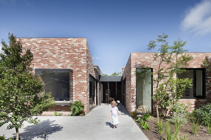 """For a young family, architect Clare Cousins updates a brick Victorian and links it to its green surroundings, while preserving """"the cellular logic"""" of the old house. Rest assured, the results are far from fusty."""