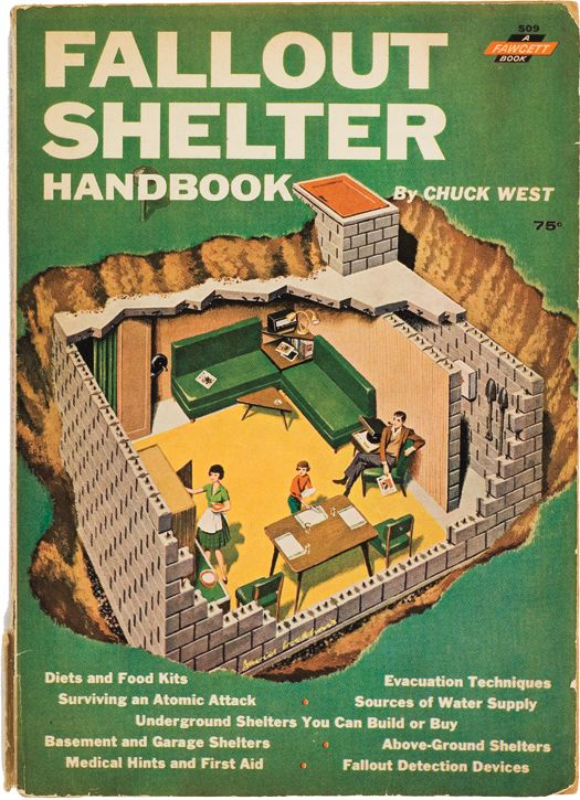 Bomb drills were routine when I was in grade school. We had a shelter in the house we grew up in. My folks now use it for storage for years.
