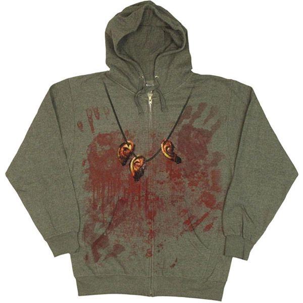 Walking Dead Daryl Costume Hoodie