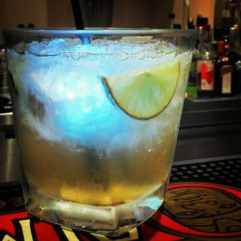Odyssey drink, Mnistires Bar Restaurant, Odyssey hotel, Agia Efimia, Kefalonia, Greece