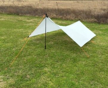 C-twinn Ultralight Backpacking Tarp is an ultralight flat tarp for c&ing and backpacking. & Best 25+ Tarp poles ideas on Pinterest | Day tent Camping 101 and ...