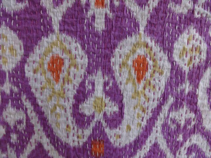 Индийский икат кантха одеяла оптовая продажа, Ручной работы конструктор двухпозиционное 100% хлопок индия-картинка-Ватные одеяла-ID продукта:151110442-russian.alibaba.com