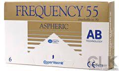 FREQUENCY 55 ASPHERIC - 18.60€ - Μαλακοί φακοί επαφής μηνιαίας αντικατάστασης με ασφαιρική εμπρόσθια επιφάνεια. Επιτρέπει στις ακτίνες του φωτός να εστιάζουν σ' ένα συγκεκριμένο σημείο, αντί σε μία συγκεκριμένη περιοχή. Αποτελεσματικότερη διόρθωση της όρασης, ιδιαίτερα για χρήστες με χαμηλά επίπεδα αστιγματισμου.