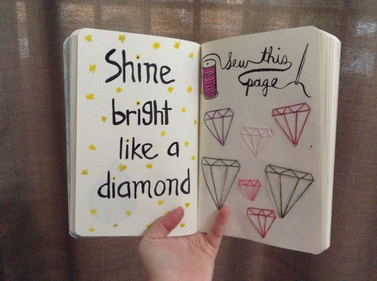 Sew this page #wreckthisjournal