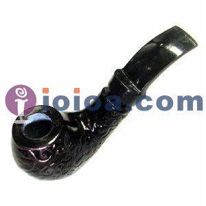 Деревянный табака трубы, ручная Трубочный табак деревянные курение дерево фильтруют Новые в коробке
