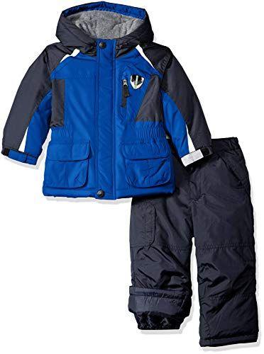 ebc60dd2f678 London Fog Boys Jacket and Ski Pant 2-Piece Snowsuit