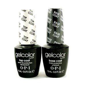 OPI GelColor Base & Top Coat