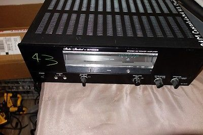 Studio-Standard-By-Fisher-Stereo-DC-Power-Amplifier-BA-6000-Data-Products
