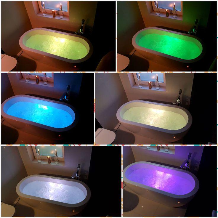 Wanna wolnostojąca Ravon Genesis Air czyli wanna z zamontowanym masażem powietrznym i światłem LED  w różnych kolorach. Wanna wyposażona jest w 16 superpłaskich dysz do masażu, które gwarantują nam przyjemną kąpiel i odprężenie dla ciała, a chromoterapia (terapia światłem) zapewni relaks i ciała i duszy.