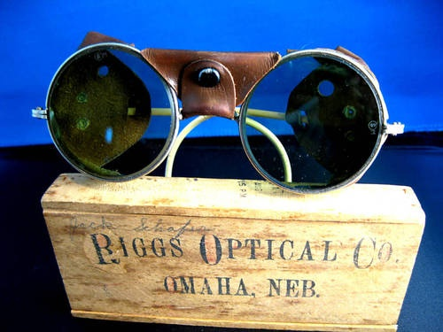 Biggs Optical Co Glacier Glasses