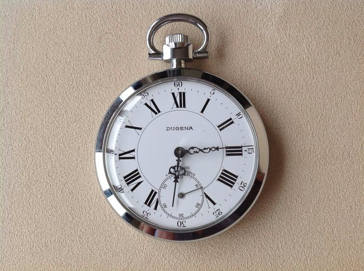 Dugena Pocket Watch, Made in Germany