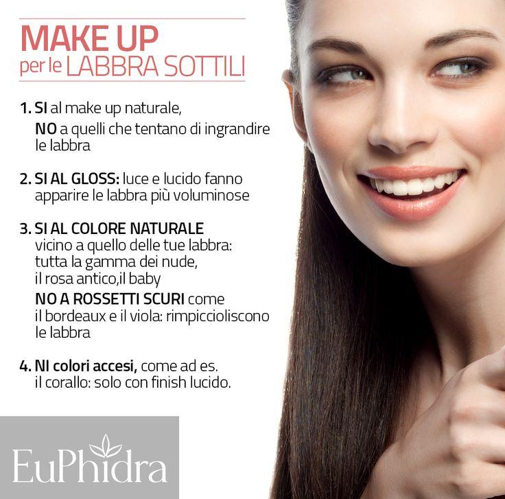 alcuni semplici suggerimenti per il make up delle labbra sottili.  #rossetto #makeup #gloss