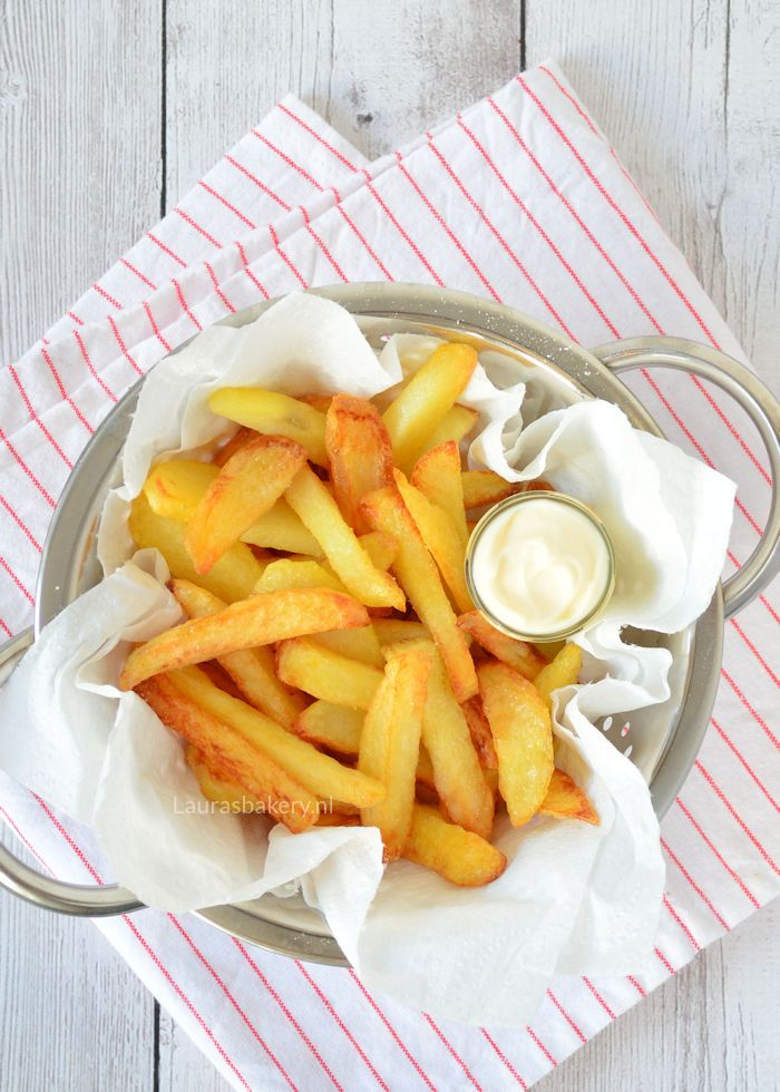 homemade oven fries - Zelf ovenfriet maken - Laura's Bakery