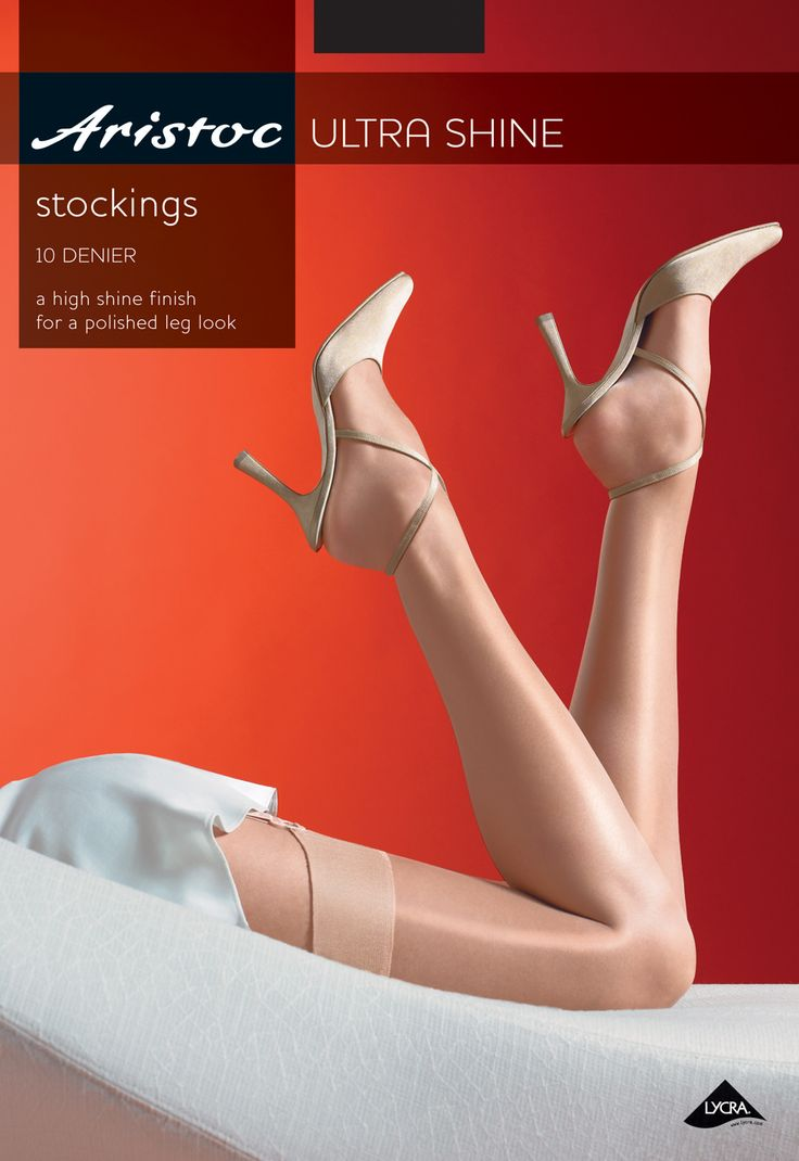 Aristoc 10 Denier Ultra shine Stockings.