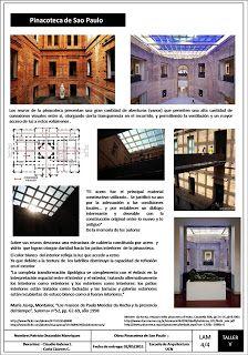 * TALLER DE ARQUITECTURA 5 / LENGUAJE - 1-2011: Restauración Pinacoteca de Sao Paulo, R. Azevedo, R. Domiziano1873-1905, Paulo Mendes da Rocha 1993-1998