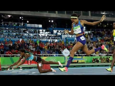Allyson Felix Denied Gold by Dive But Still Cements Place in Olympic Tra...