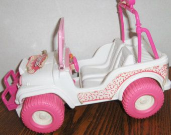 Popular items for barbie car on Etsy
