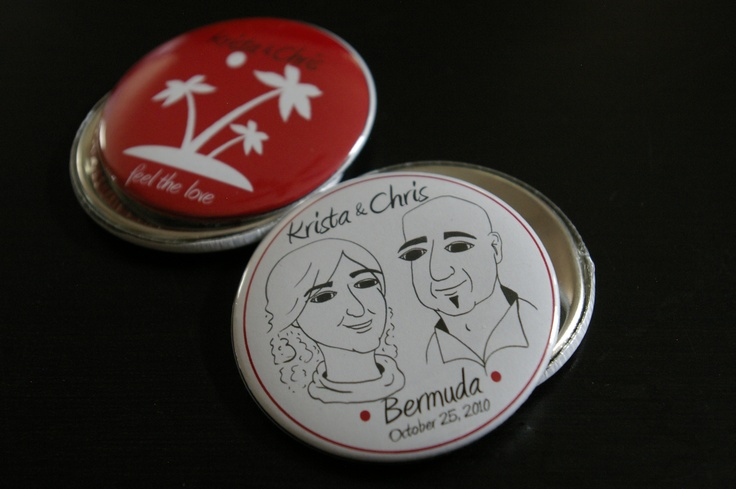 ~ I help a dear friend with items for her wedding.  Buttons. I sketched the image of them too ~