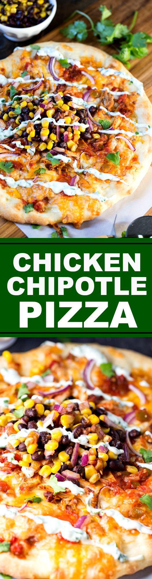 Chicken Chipotle Pizza - California Pizza Kitchen copycat