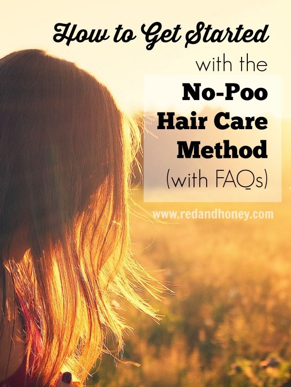 How to Get Started With the No-Poo Hair Care Method - Red and Honey