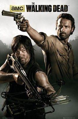 The Walking Dead - Rick Grimes Daryl Dixon TV Poster Print (36x24in) #70456