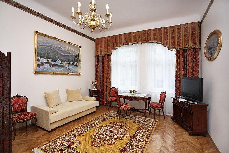 Apartament Książęcy III w Krakowie przy ul Starowiślnej. http://apartamenty-florian.pl
