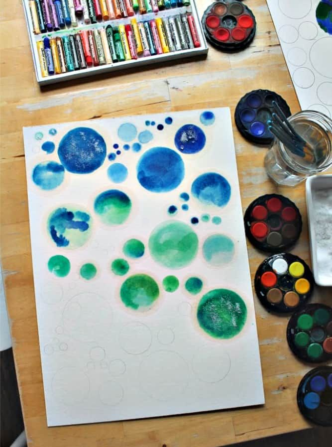 5 Easy Watercolor Painting Lessons For Children Kids Watercolor