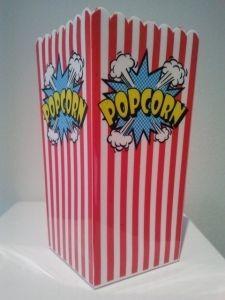 Medium pop corn- kulho, tällainenkin on kiva