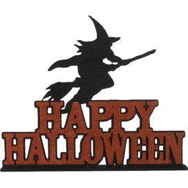 Счастливый Хэллоуин ведьмы Декор