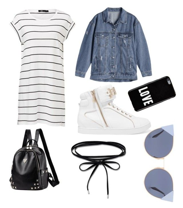 """Day with friends "" by giuliaaq on Polyvore featuring Just Cavalli, Thomas Sabo, Fendi and Givenchy"