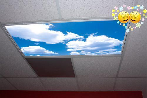 #shoponline Probably the most popular of our #Skypanels, the #Cumulus II Skypanels bring a dream-like nature of the sky to your office or home. These panels can b...