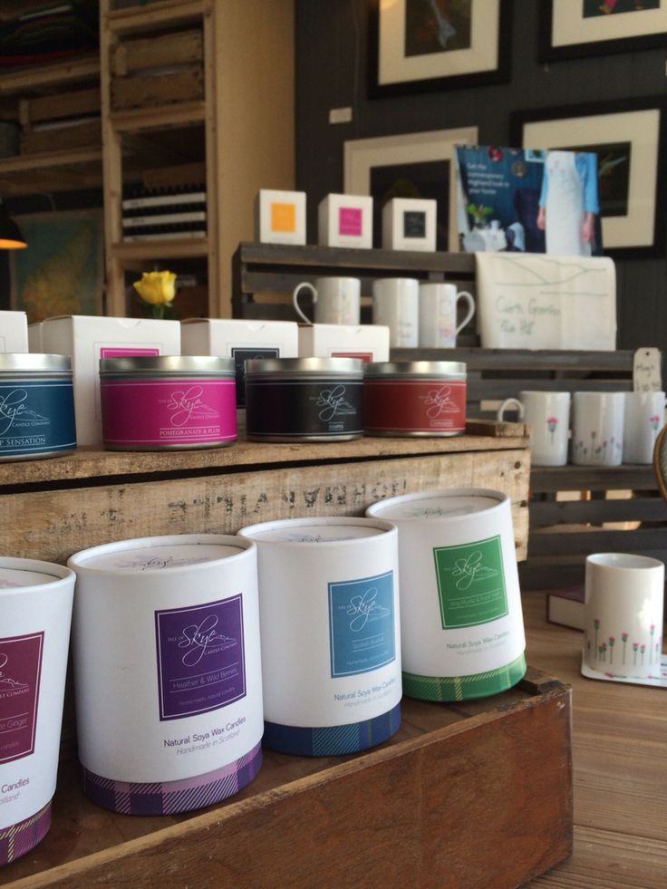 14 best s h o p l o c a l images on pinterest scotland skye candle display in our gift shop negle Images