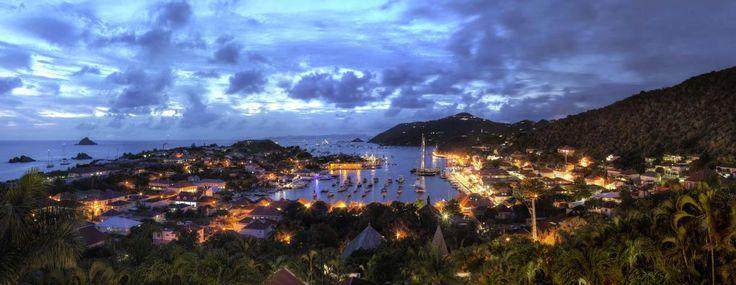 Gustavia Harbor, Saint Barthélemy  - http://earth66.com/village/gustavia-harbor-saint-barthelemy/