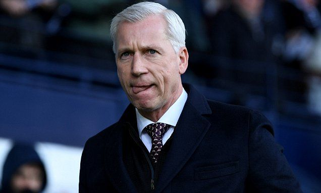 Alan Pardew is nearing the end game at West Brom