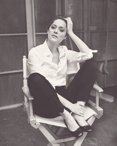 Marion Cotillard: Marioncotillard, Inspiration, White Shirts, Marion Cotillard, Icons, Beauty, People