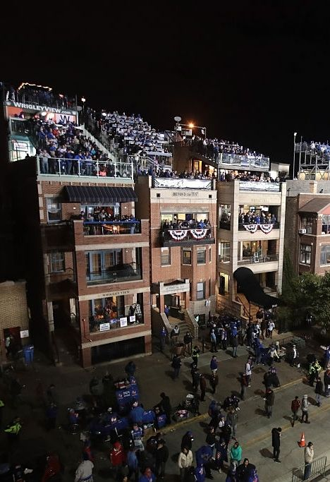 THe Wrigley Rooftops//Oct 30,2016 World Series Game 5 v CLE