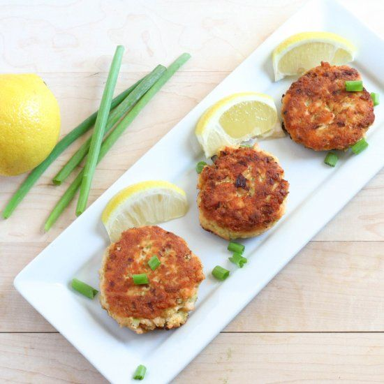 Delicious and easy Salmon Cakes. Paleo and Whole 30 approved!