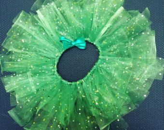 PIXIE DUST Tinkerbell Inspired Tutu Dress with от goodygoodytutus