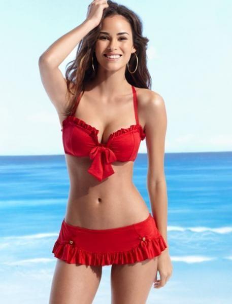 betsey johnson bikini. love the top, but needs a different bottom