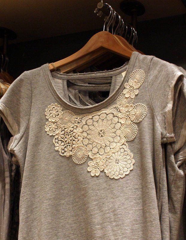 une bonne idée pour réausser un t shirt ordinaire