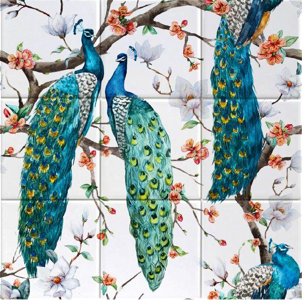 Påfåglar 9 delar