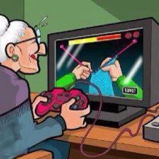 Seniors video game