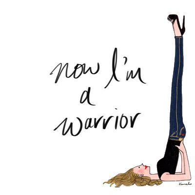 www.mylittleparis.com Maintenant , je suis une guerrière .