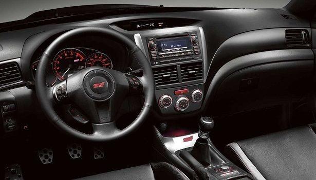 2016 Subaru WRX - interior