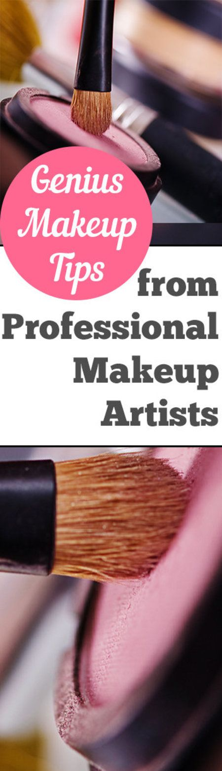 Genius Makeup Tips From the Pros - #makeuppro #makeupartist #beautytips