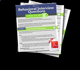 behavioral interview questions step by step includes common