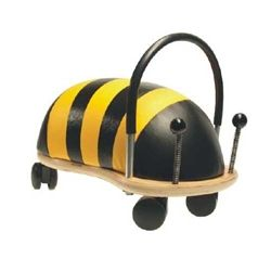 Small Wheely Bugs on Sale now! The multi award winning Wheely Bug Bee Toddler ride on toy