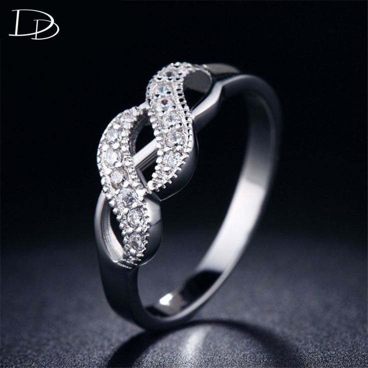 Charming Princess 925 sterling sliver rings for women CZ diamond jewelry accessories bague vintage aneis high quantity DD018