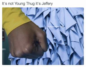 "The Internet Roasts Young Thug's Dress   If you haven't already heard Young Thug's aka Jeffery's new album 'No My Name Is Jeffery'. You can listen to the album streaming here. If you have heard it you probably already have some of the bangers like ""Pick up the phone"" on replay. You also probably have seen the album cover and wondered Wtf us he wearing? So did social media and they have been roasting him ever since the release. Check out some of the best Young Thug Dress Memes.    For more…"