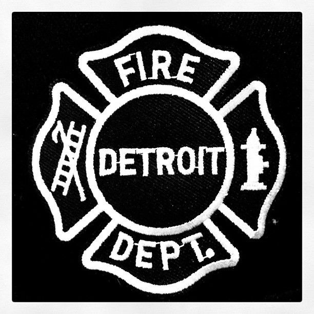 Detroit Fire Dept. Detroit's finest. Real Heroes.